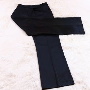 The Limited Black Stretch Sateen Career Pants